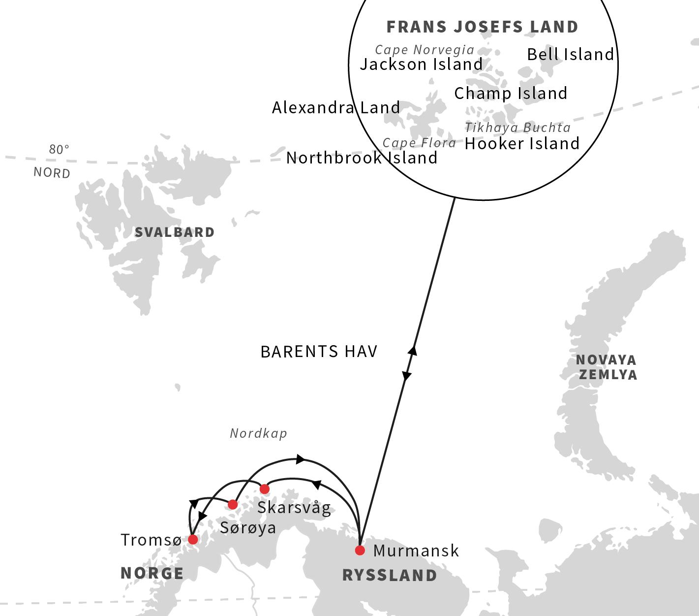 Polarna som ska till ryssland i sommar