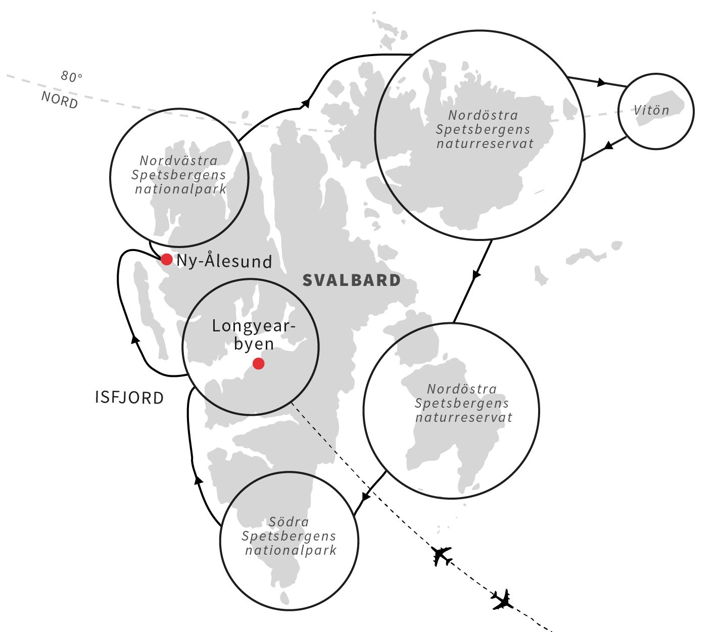 Svalbard lockar med strandstadning